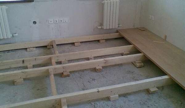 Ремонт пола в доме с деревянными перекрытиями - способы + инструкция!
