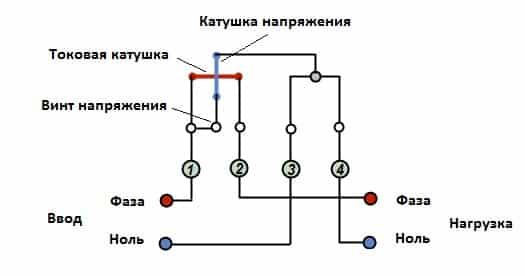 Схемы подключения однофазного счетчика
