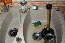 Как прочистить засор на кухне в домашних условиях, что делать, если засорилась раковина, чем пробить слив в трубе