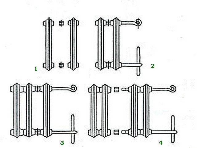 Разбираем чугунные радиаторы отопления мс 140: технические характеристики и монтаж приборов