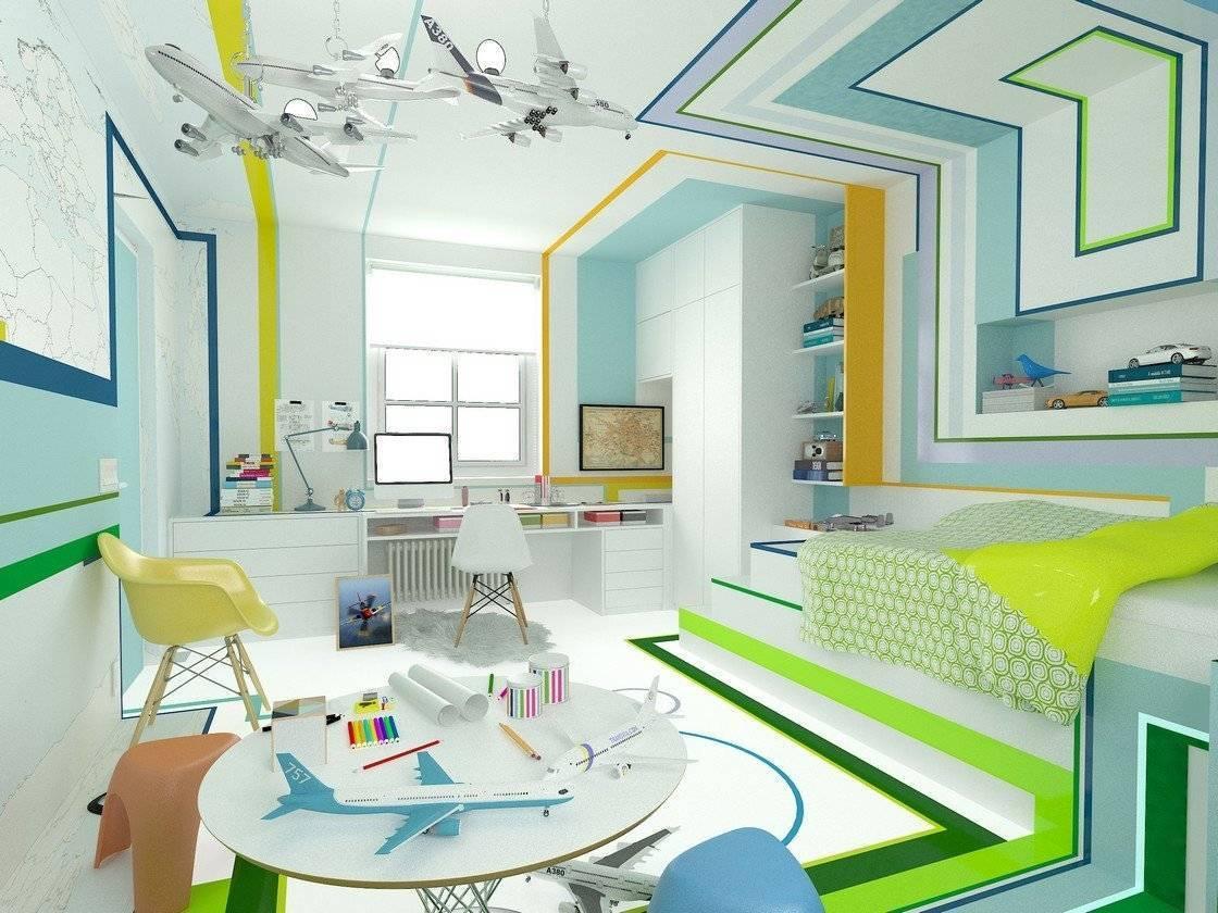 Дизайн комнаты школьника — фото подходящих проектов