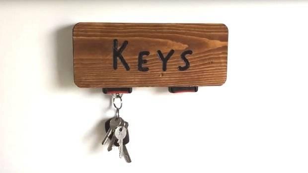 Мастер-классы и идеи по изготовлению ключницы своими руками