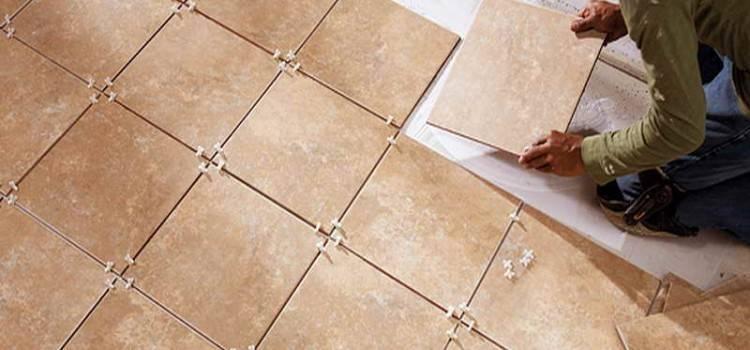 Как правильно укладывать плитку на пол?