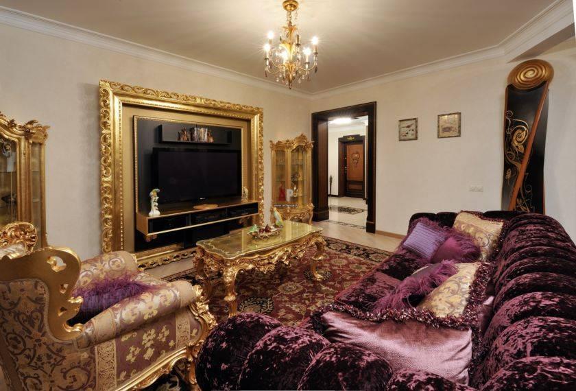 Стиль барокко в интерьере квартиры, гостиной и спальни | современные идеи дизайна
