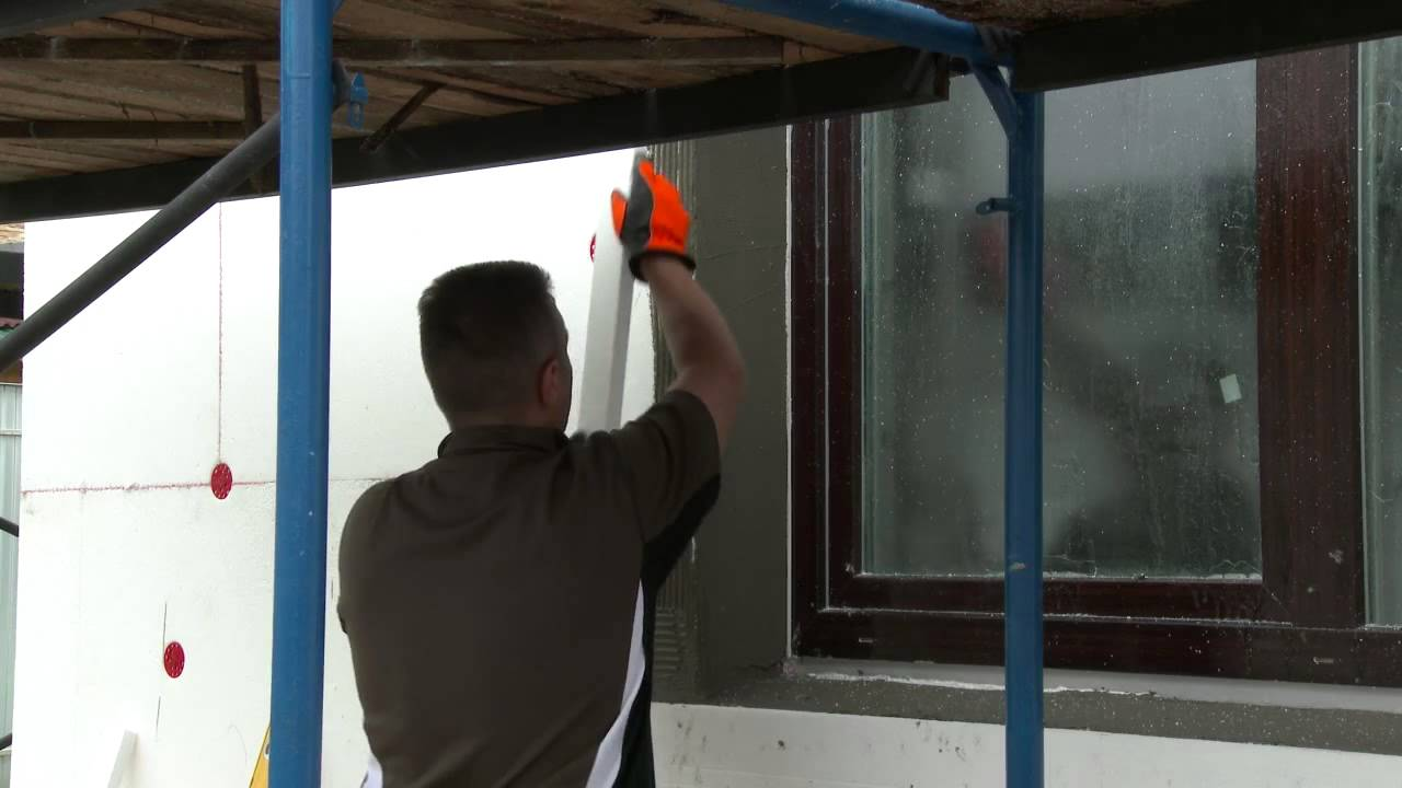 Как экономить на теплоносителях — утепляем стены пенопластом своими руками