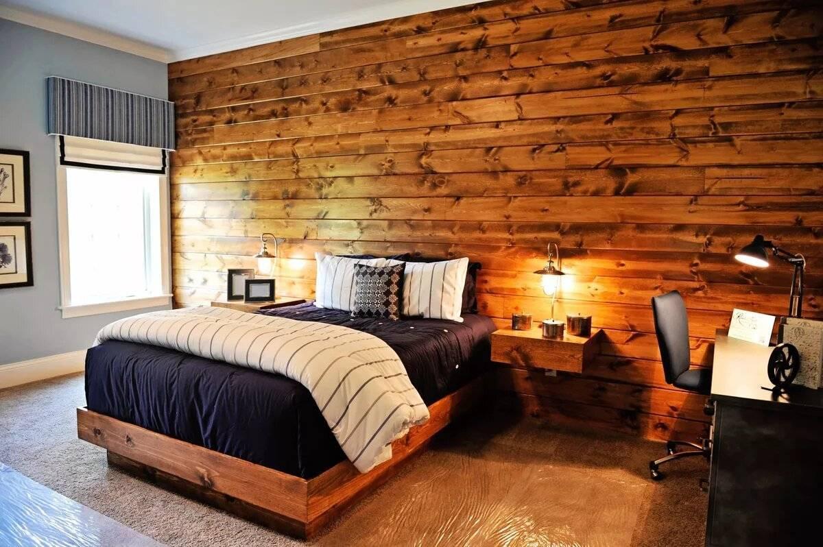 Современная отделка стен деревом - 30 фото красивых интерьеров