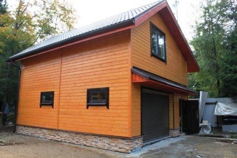 Проект гаража с мансардой: как практично обустроить гараж