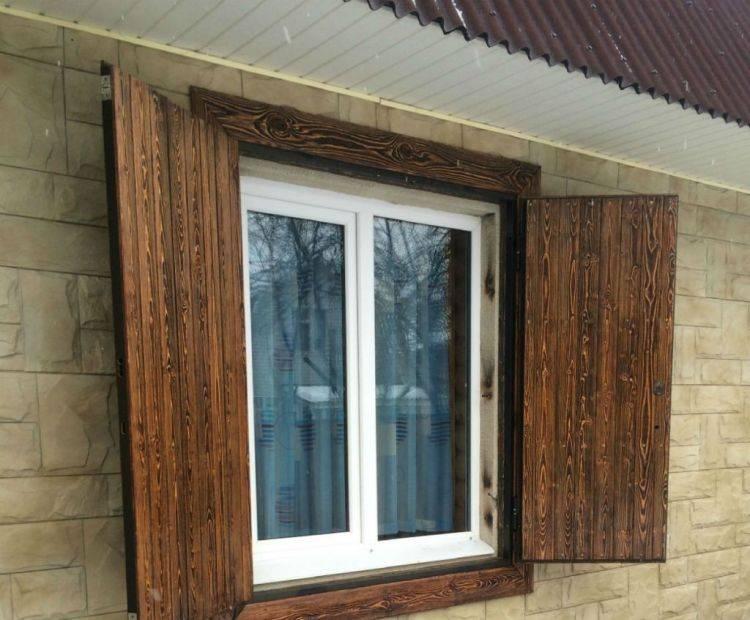 Деревянные ставни на окна своими руками – виды изделий, подготовка инструмента и процесс изготовления