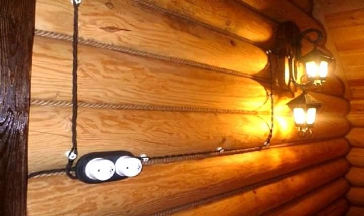 Проводка в деревянном доме своими руками: схемы, правила проектирования и советы по монтажу (видео +130 фото)