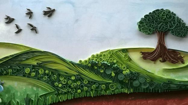 Букеты цветов в технике квиллинг подборка работ