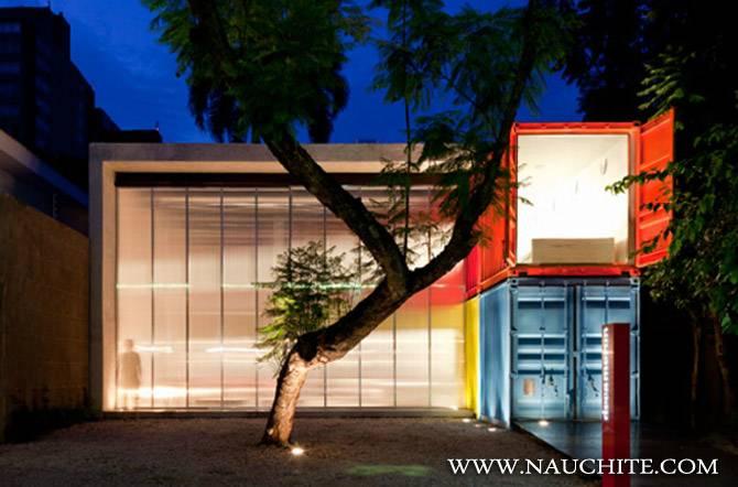 4 дома из контейнеров, фото и проекты