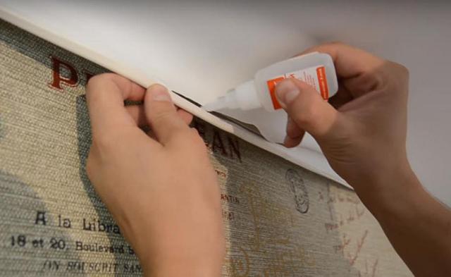 Как заклеить натяжной потолок своими руками: пошаговая инструкция и советы по выбору клея