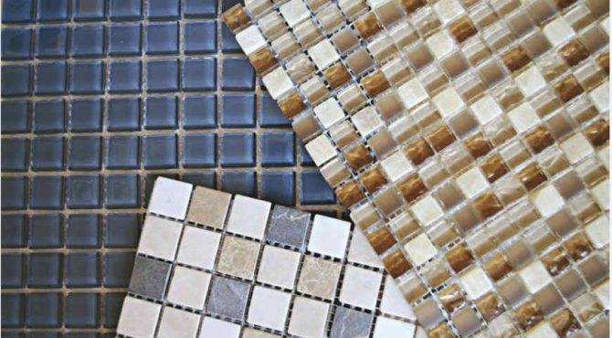 Укладка мозаики своими руками - как клеить (+фото)