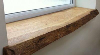 Деревянные подоконники (44 фото): варианты из дерева в интерьере, изготовление из массива дуба и сосны своими руками