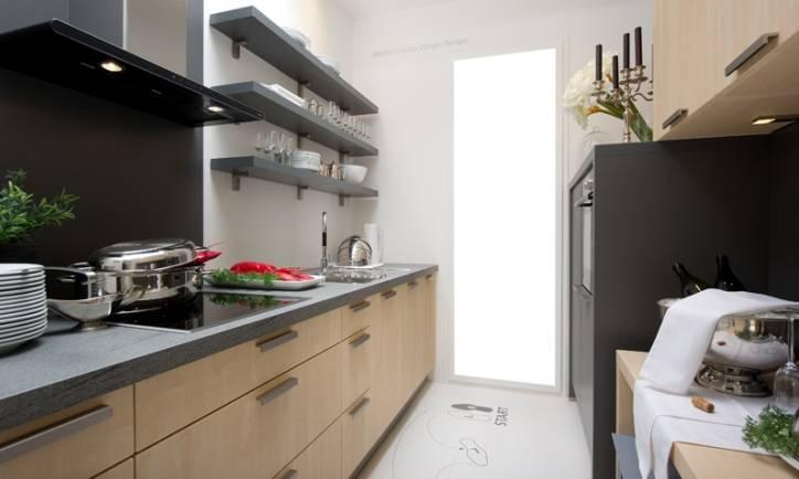 Дизайн прямоугольной кухни (65 фото): планировка интерьера маленькой кухни формы узкого прямоугольника с диваном и балконом, особенности зонирования, красивые идеи и проекты