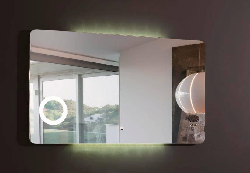 Как выбрать зеркало с подсветкой в ванную комнату: правила выбора
