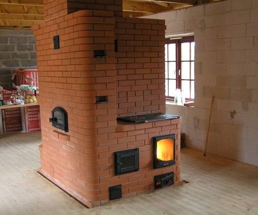 Водяное отопление от печи на дровах для дома своими руками
