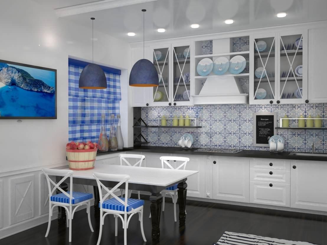 Кухня в средиземноморском стиле: 8 идей и 50 фото