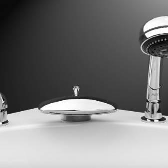 Установка врезного смесителя на ванну своими руками