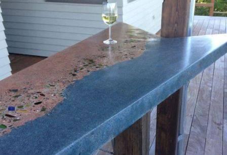 Столешница из бетона: проект, материалы и этапы работы