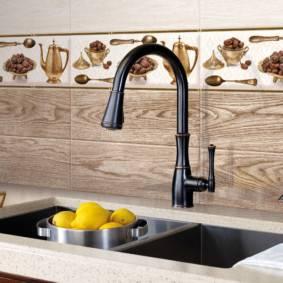 Декоративные панели для отделки кухни