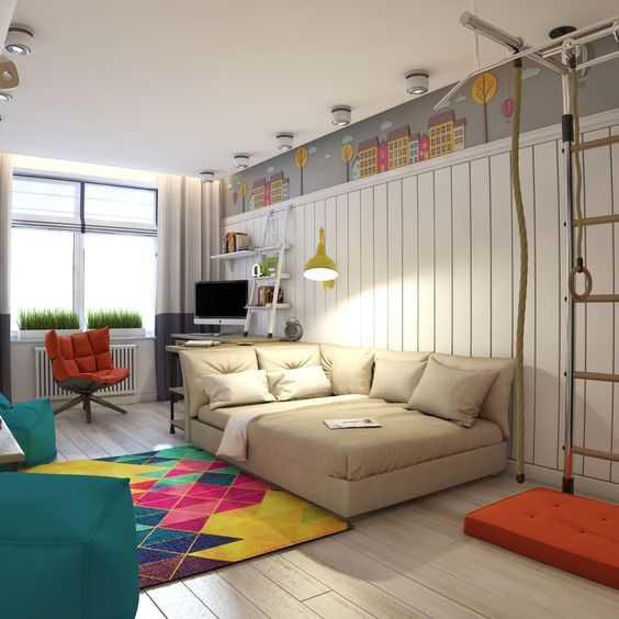 Ковер в детскую комнату: варианты дизайна для девочки и мальчика