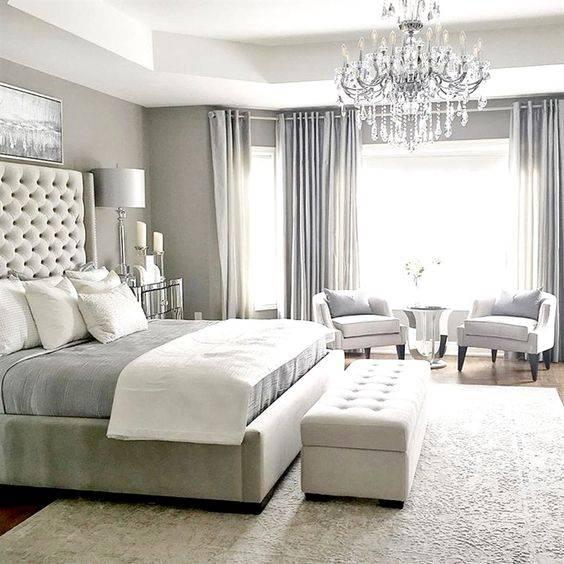 Дизайн спальни в современном стиле. Модные спальни в у