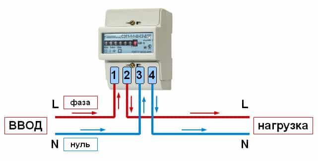 Как подключить электросчетчики и автоматы правильно - однофазный и трехфазный, схема