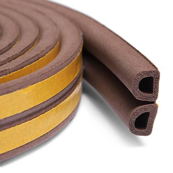 Уплотнитель для дверей самоклеющийся: какой выбрать – резиновый или силиконовый и как приклеить
