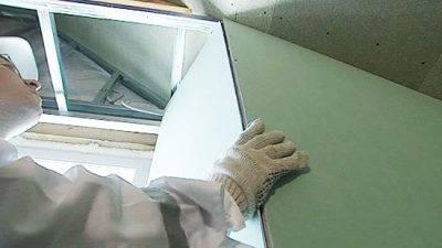 Откосы из гипсокартона: установка своими руками