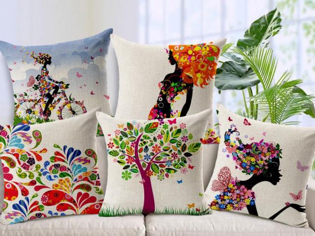 Подушка своими руками: 90 фото, выкройки, схемы пошива и лучшие идеи оформления