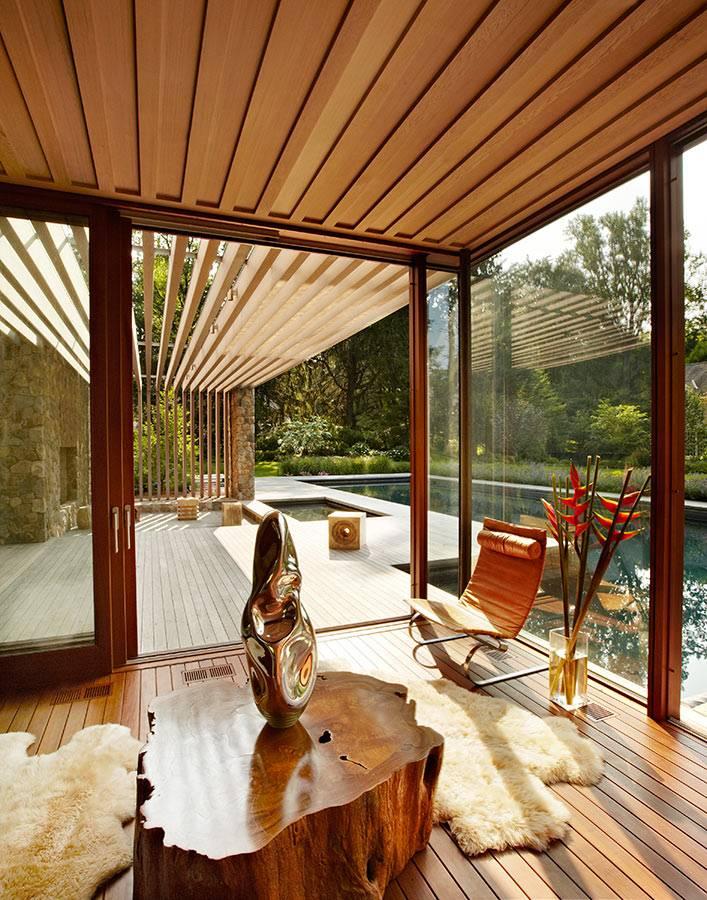 Раздвижные окна для террасы и веранды: фото вариантов остекления, конструкции