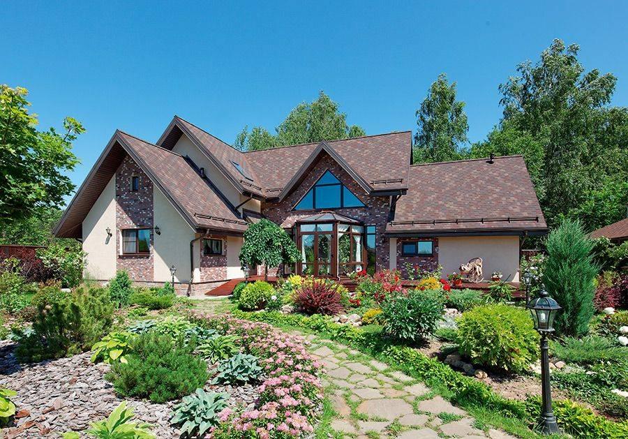 Обустройство двора - современный ландшафтный дизайн и варианты его оформления (130 фото)