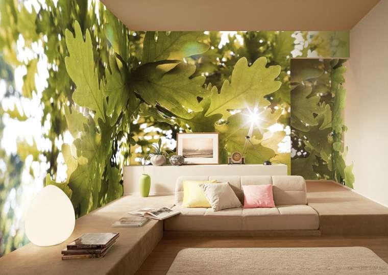 Акцентная стена — особый прием в интерьере комнаты гарантирует прекрасный результат