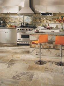 Пол на кухне (53 фото): из чего лучше сделать пол? наливной пол в дизайне интерьера. как выбрать напольное покрытие? комбинированные и другие варианты оформления