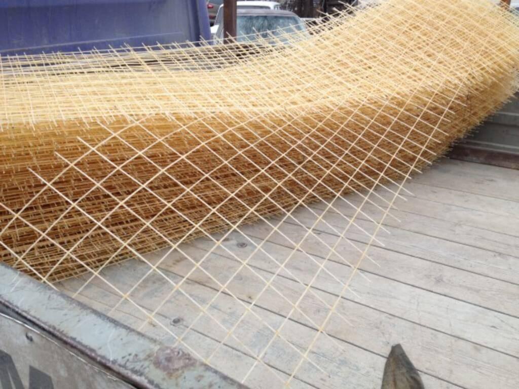 Армирующая сетка для стяжки теплого, чернового, бетонного и других типов полов, для монолитных перекрытий, технология укладки, расход на 1 кв.м., виды, где купить