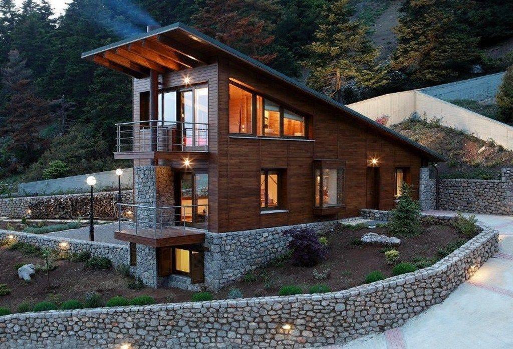 Комбинированные фасады