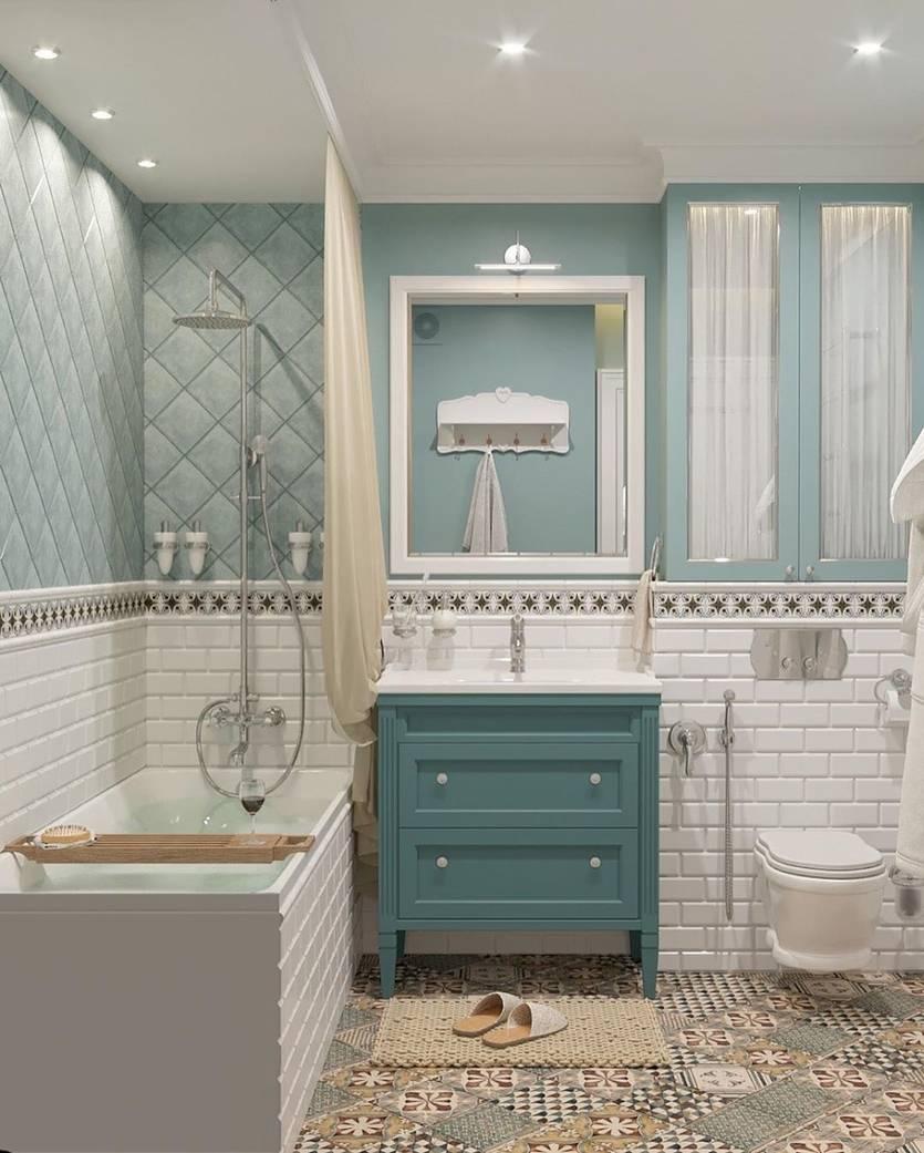 Ванная в стиле «прованс» (85 фото): интерьер и дизайн, маленькая комната с душевой кабиной в прованском стиле