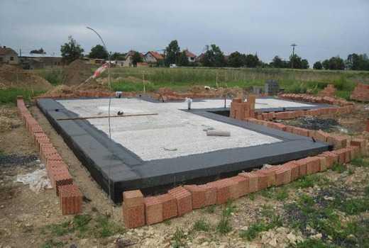 Расчет бетона для плиты фундамента