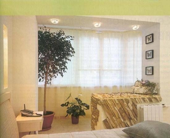 Дизайн лоджии, совмещенной с комнатой (71 фото): как сделать объединение лоджии и продумать интерьер после присоединения