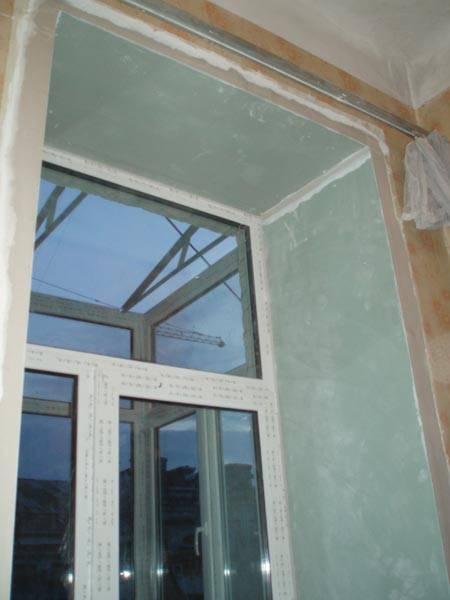 Делаем окна аккуратными – устанавливаем откосы из гипсокартона