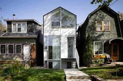 Узкий дом. проектирование и планировка домов для узких участков