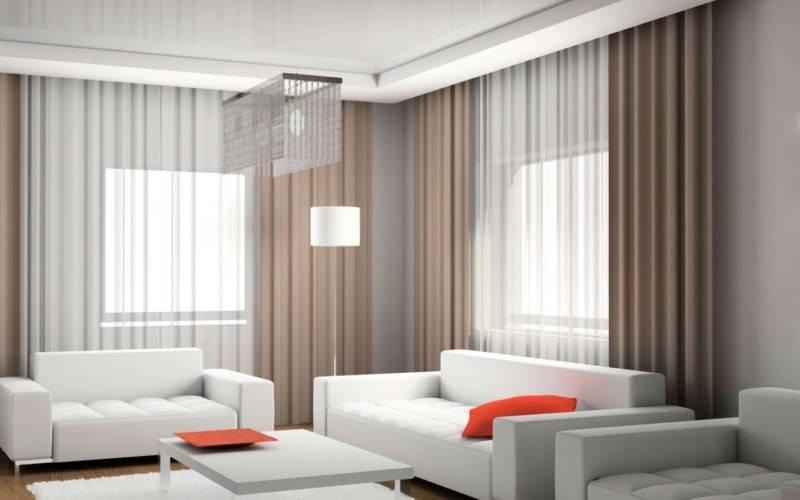 Красивый тюль в зал: 100 лучших фото современного дизайна