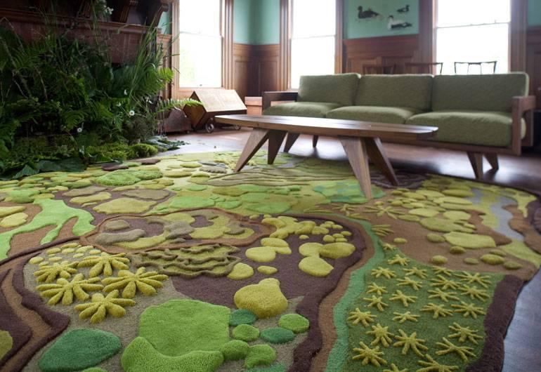 Виды и особенности ковров в интерьере