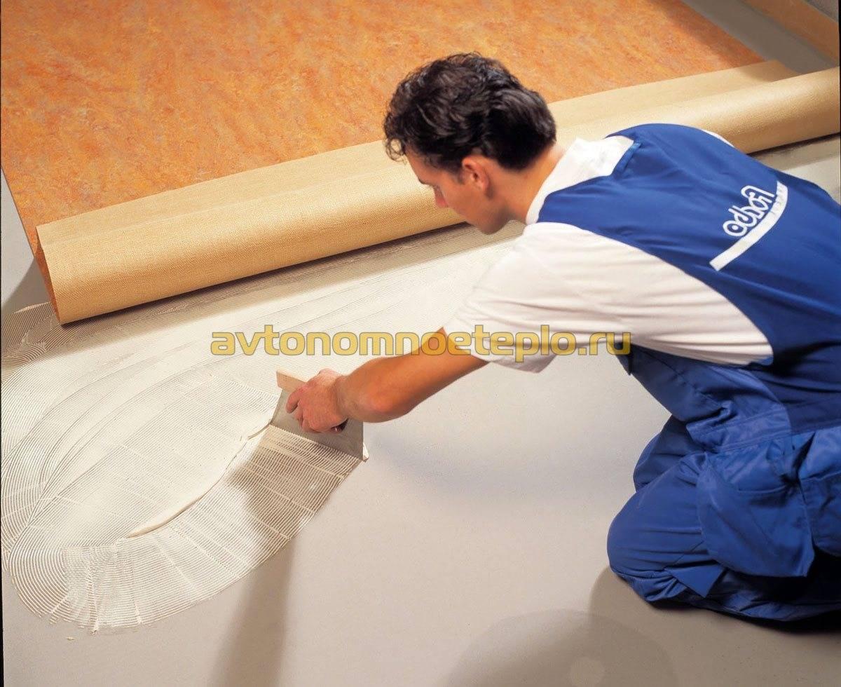 Покрытие для теплого водяного пола: выбираем лучшее покрытие