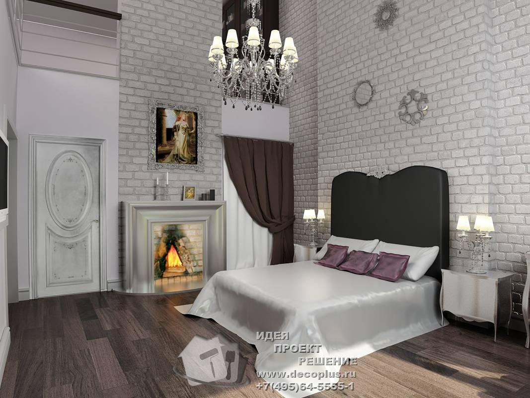 Спальня в стиле лофт: примеры дизайна, 70+ фото