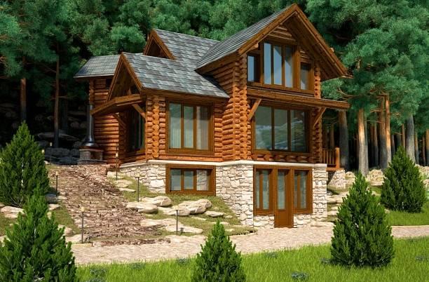 Проекты комбинированных домов - готовые и индивидуальные
