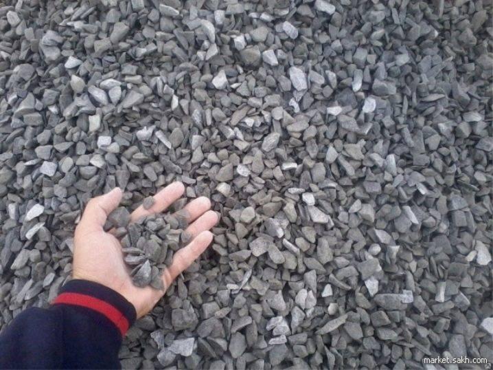 Применение щебеночно-песчаной смеси