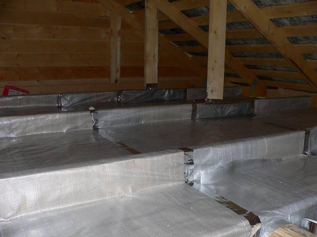 Все что нужно знать об утеплении крыши бани