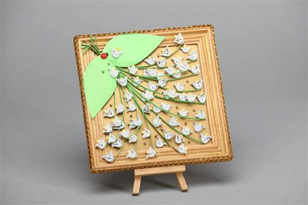 Составляем цветочные букеты в технике квиллинг